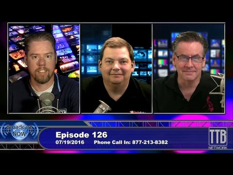 """Don't pay attention to the cables behind the curtain"" Broadcast Now Episode 126"
