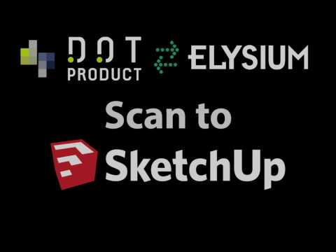 InfiPoints DP: Scan to SketchUp