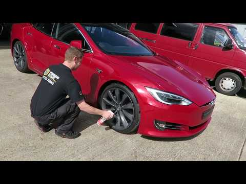 Vlog 007 - Taking a Tesla Model S to the next level and Detailing a brand new Range Rover Sport