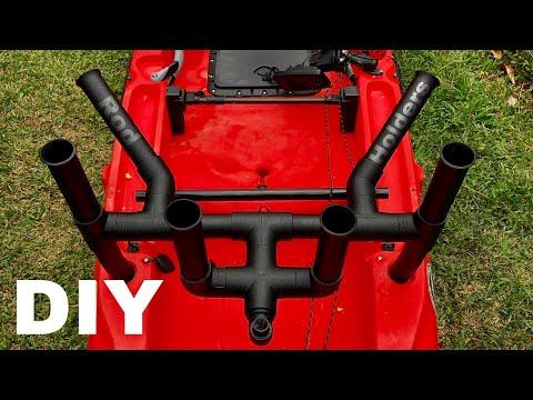 The ULTIMATE DIY Rod Holders | PVC, Rocket Launcher Rod Holders, Kayak Mods, Offshore Rod Holders
