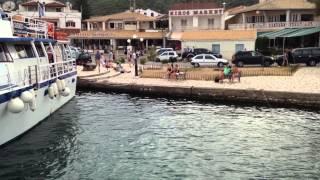 Boat journey in Corfu in September 2015
