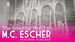 M.C. Escher, Belvedere, 1958 | The Amazing World of M.C. Escher