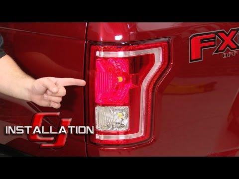 [XOTG_4463]  F-150 Diode Dynamics LED Tail Light And Rear Turn Signal Bulbs  1997-16/Raptor 2010-14 Installation - YouTube | Ford Truck Tail Light Resistor Wiring |  | YouTube