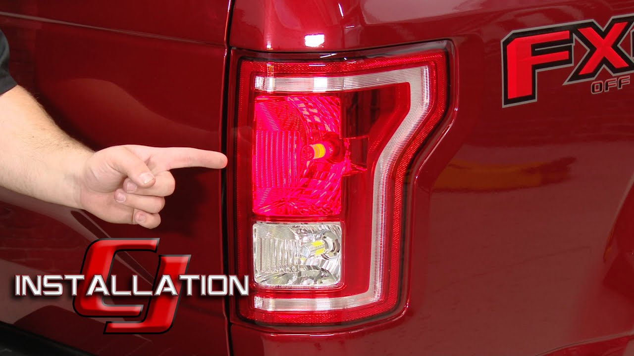 F150 Diode Dynamics LED Tail Light And Rear Turn Signal Bulbs 199716Raptor 201014