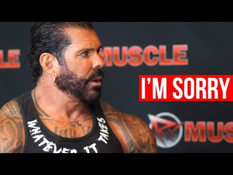 Rich Piana Apologizes! Live  With on RXMuscle
