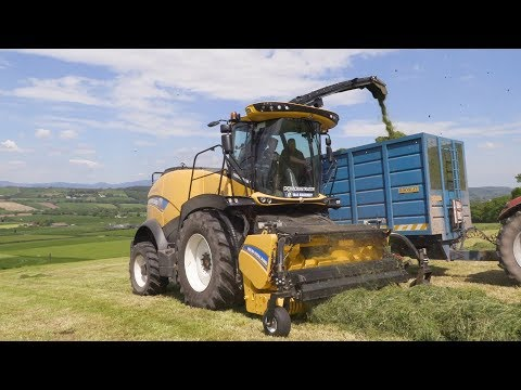 GRASSMEN TV - New Holland FR920 | Noonan Agri Contractors
