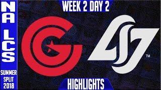 Video CG vs CLG Highlights | NA LCS Summer 2018 Week 2 Day 2 | Clutch Gaming vs CLG Highlights download MP3, 3GP, MP4, WEBM, AVI, FLV Agustus 2018