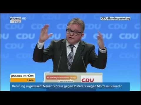 CDU-Parteitag: Debatte zu Wirtschaftsfragen am 10.12.2014