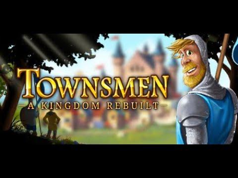 Townsmen - A Kingdom Rebuilt Gameplay | PC Game Walkthrough |