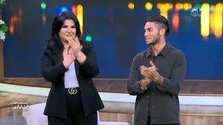 Prince Ali is back home..Mena massoud is talking egyptian  | Mena Massoud With Mona El shazly