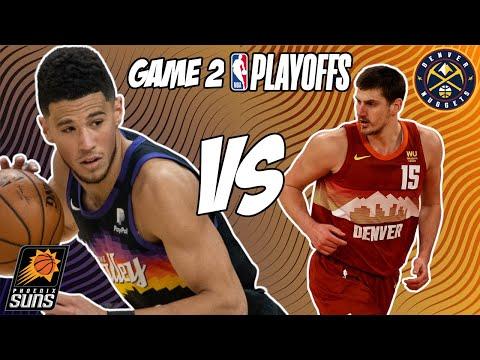 Phoenix Suns vs Denver Nuggets Game 2 6/9/21 NBA Playoff Free NBA Pick & Prediction