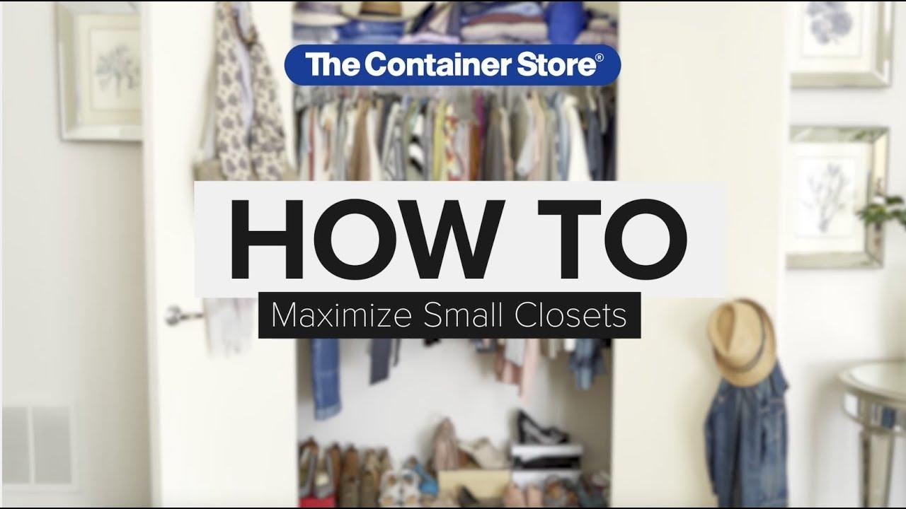 How To: Maximize A Small Closet