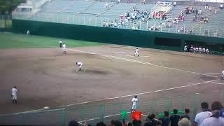 緑丘VS一宮商業   2018西愛知  高校野球  公式戦初ヒット。