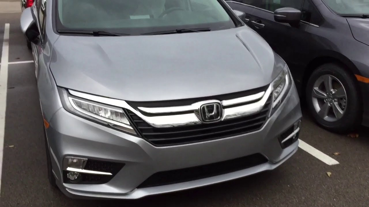 2018 Honda Odyssey Colors In Cloudy Day And Wheels