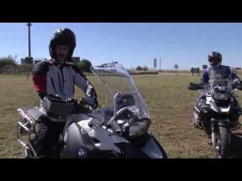 BMW Rider Academy Off-Road Training Part 1