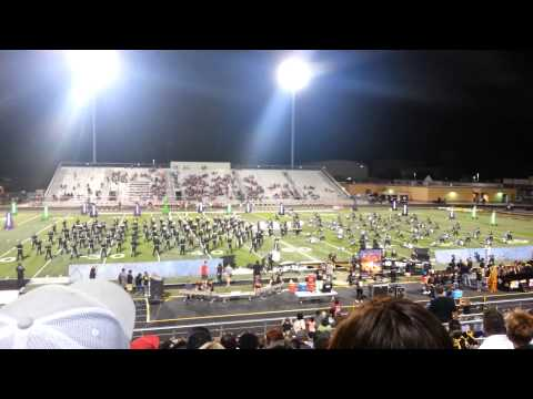 Mount Pleasant High School Goin' Gold Band 2015