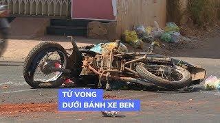 1 người chết tại chỗ sau tai nạn giao thông giữa xe ben và xe máy