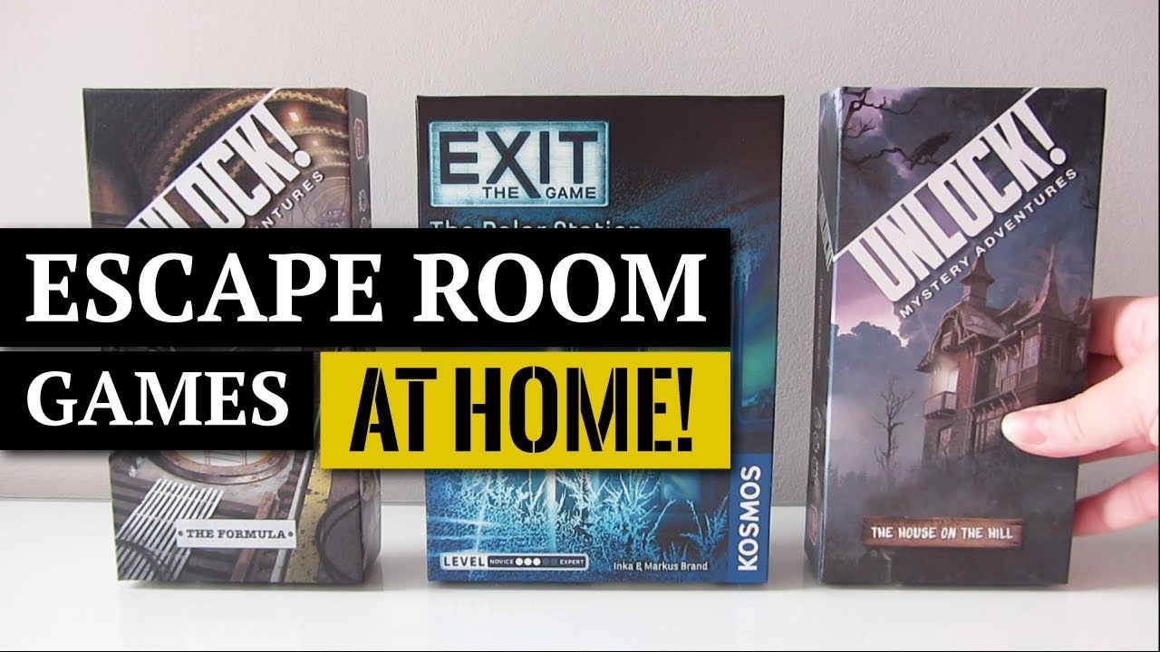 Escape Room Games You Can Play At Home We Escaped Youtube
