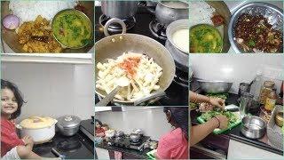Ek Simple Indian Dinner Routine | Indian mom Evening Kitchen Routine