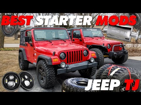 Best Starting Mods Jeep TJ