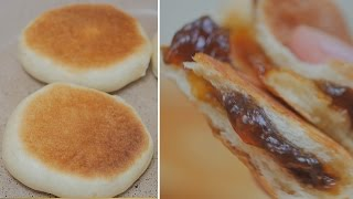 [NO OVEN]  Korean Sweet Honey Pancakes (Honey Hotteok)  [FOOD VIDEO]  [스윗더미 . Sweet The MI]