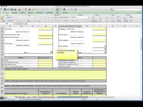 Personal Financial Statement Education