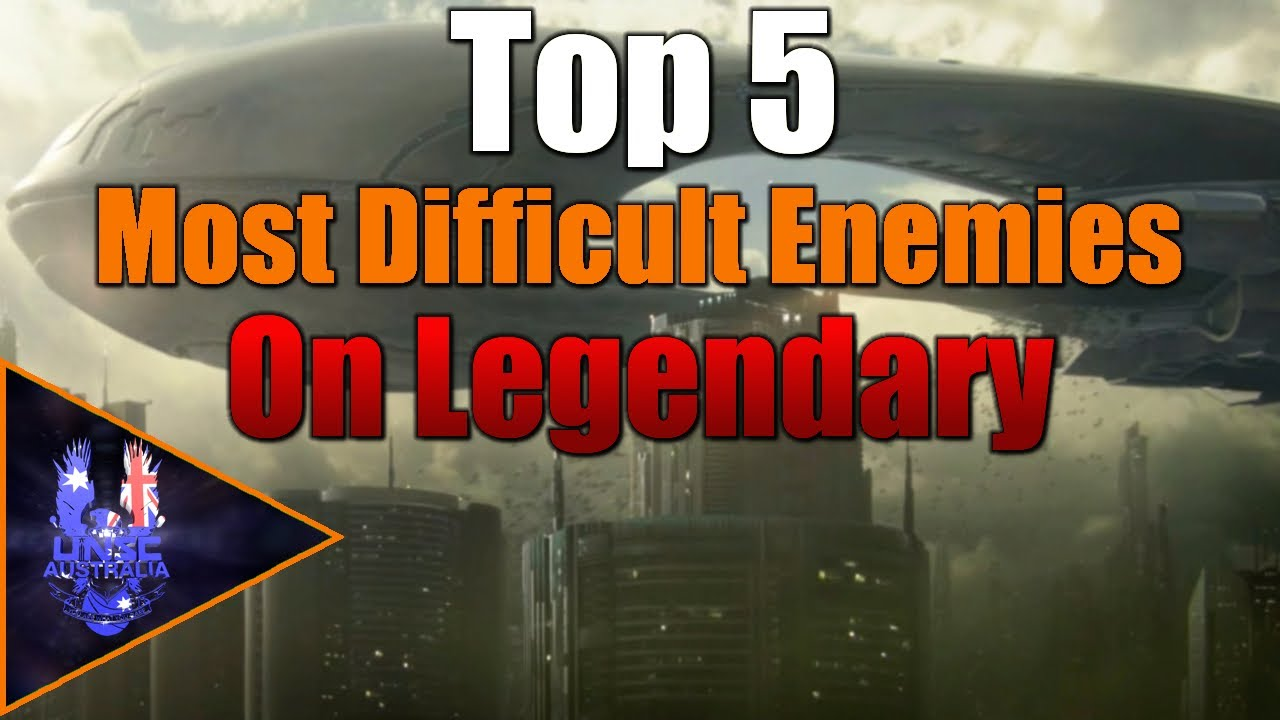 Halo - The Top 5 Most Difficult Enemies On Legendary