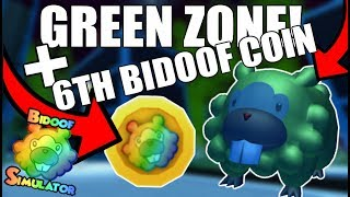 GREEN ZONE + 6TH BIDOOF COIN!! - Roblox Bidoof Simulator (Episode 7)
