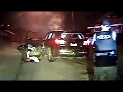 Dashcam Shows Chicago Police Shootout With Carjacking Suspect