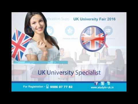 UK University Fair February 2016 in Bangalore
