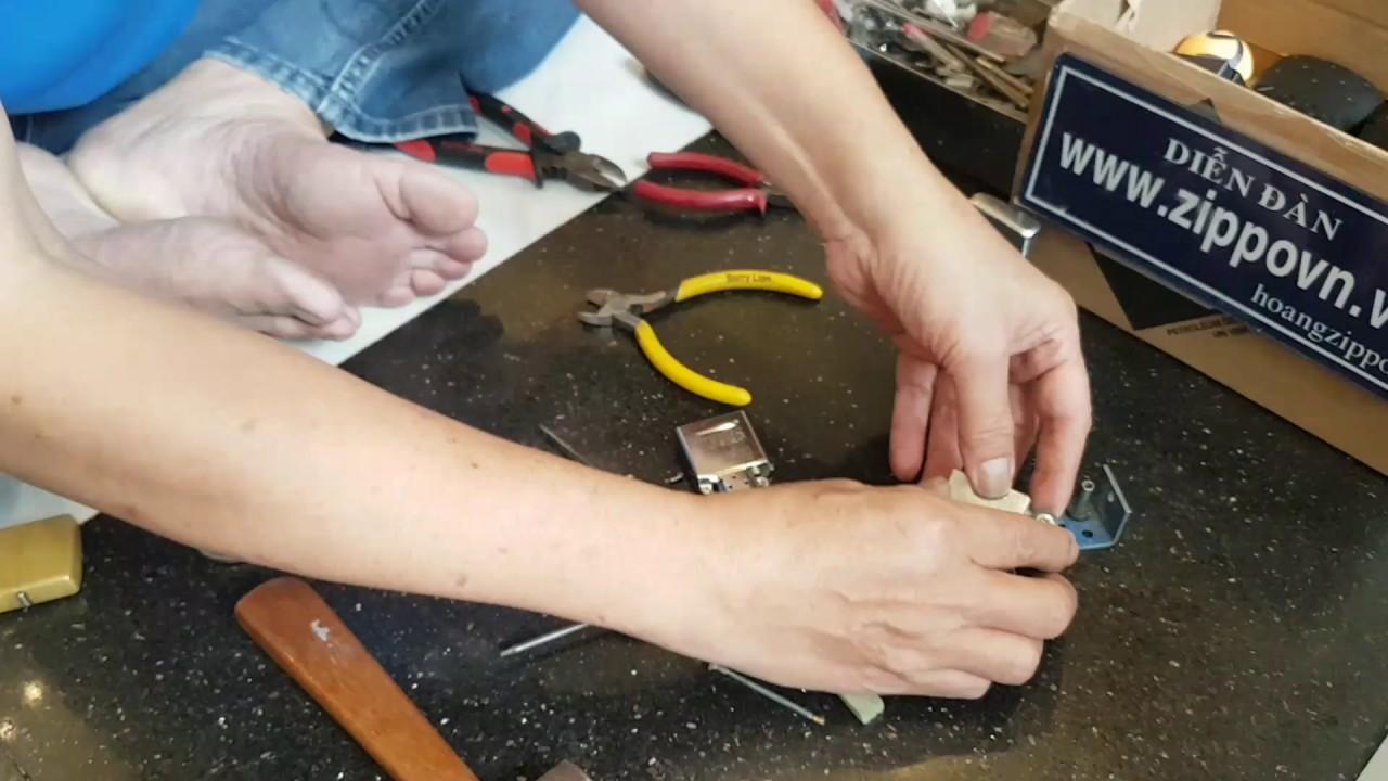 Bí kíp thay bánh xe và độ Zippo có tiếng kêu như chuông. Hướng dẫn 0903817102