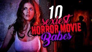 Video 10 Sexiest Horror Movie Babes download MP3, 3GP, MP4, WEBM, AVI, FLV November 2017