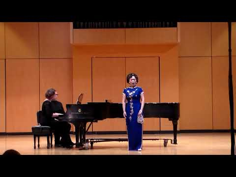 """【Soprano Lily Zhang】""""An Evening of Global Music """" Solo Recital """"Aria """"Apathy of Autumn's Wind"""""""