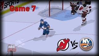 NHL 2K10: Stanley Cup Playoff Semis Game 7 - Islanders vs Devils (Broadcast Commentary)