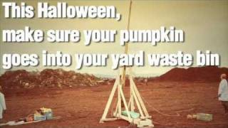 Pumpkin Launching Trebuchet - Compost