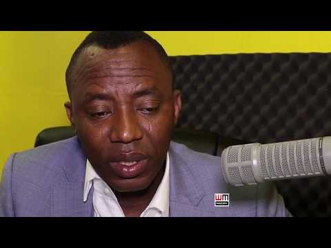 OMOYELE SOWORE'S EXCLUSIVE INTERVIEW WITH  VOICE OF AFRICA R
