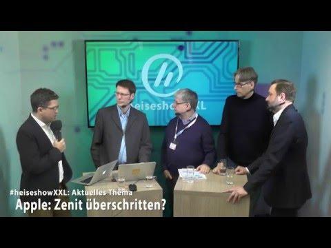 #heiseshowXXL: Hat Apple den Zenit überschritten?