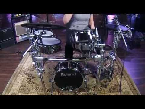 First Look at Roland TD-50 V-Drums with Jordan West at 909 Celebration