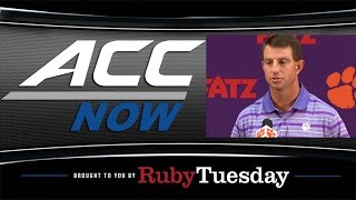 Clemson Not Taking Syracuse Matchup Lightly | ACC Now