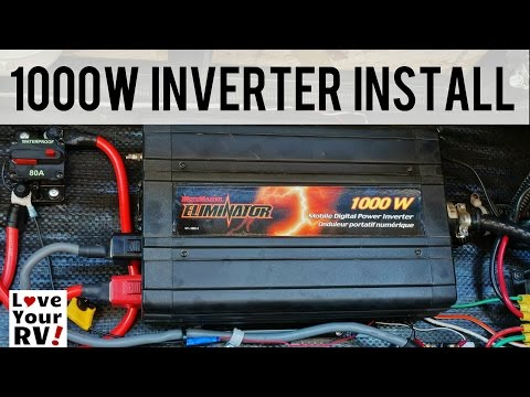 My 1000 Watt Inverter Installation Explained