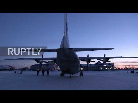 Russia: Gold rains down on Yakutsk runway after damage to plane's cargo door