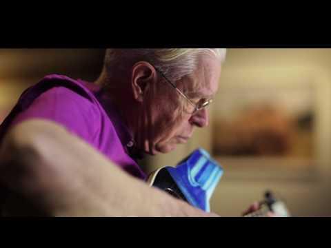 Bruce Cockburn playing a Linda Manzer Guitar