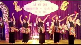 Múa dân tộc Thái Tây Bắc
