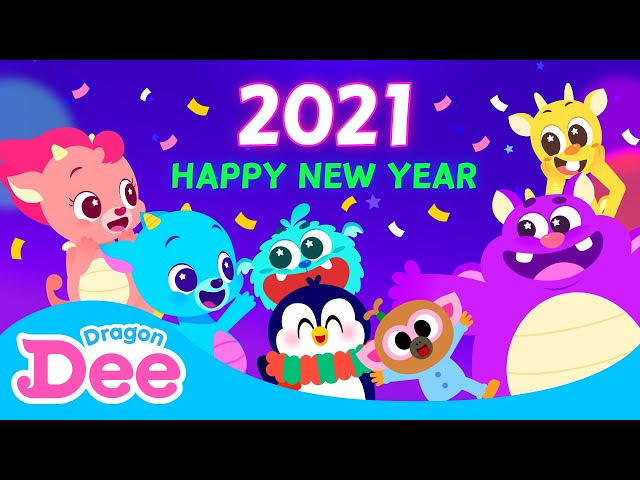New Year Countdown with Dragon Dee and Animal friends Click the link below to meet new Dragon Dee!