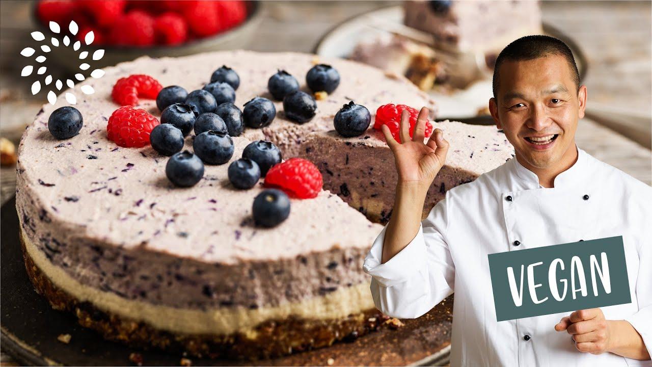 Blaubeer Torte Zuckerfrei Glutenfrei Youtube