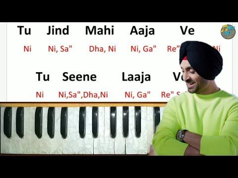 Jind Mahi By Diljit Dosanjh Play On Harmonium