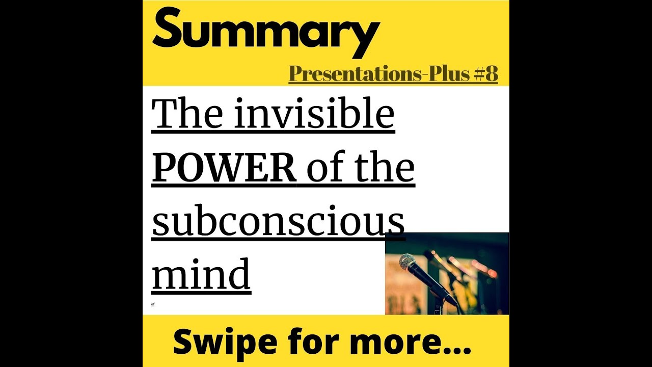 The Power of Subconsciousness