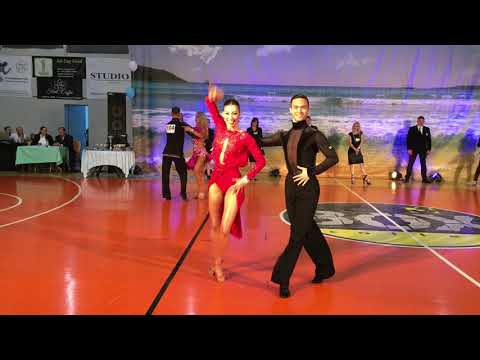 PELOPONNESE DANCE OPEN, Cha cha cha (5 dance Latin adults)