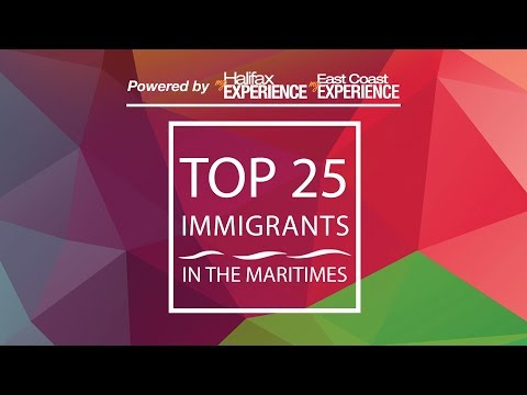 Celebrating the top 25 immigrants in the Maritimes