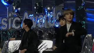 171202 MelonMusicAwards BTS JUNG KOOK Reaction to IU Performance